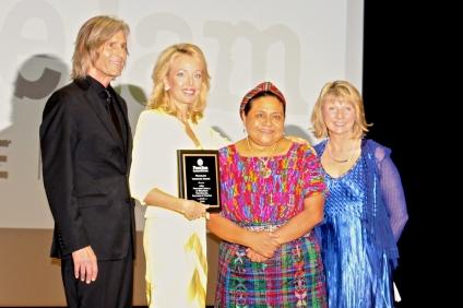 Ivan Suvanjieff, HRH Princess Camilla of Bourbon, Rigoberta Menchu and Dawn Engle @CleinaLafuenteDeLavotha