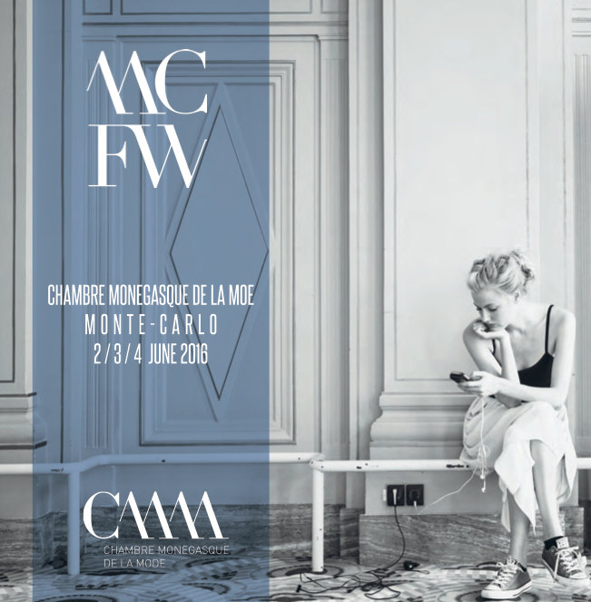 Monte-Carlo Fashion Week official poster