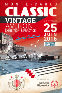 Official flyer Monte-Carlo Classic Vintage AViron 25 June, 2016