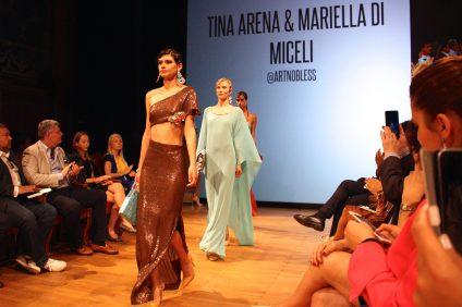 Tina Arena and Mariella Di Miceli - Artnobless MCFW2016@CelinaLafuenteDeLavotha