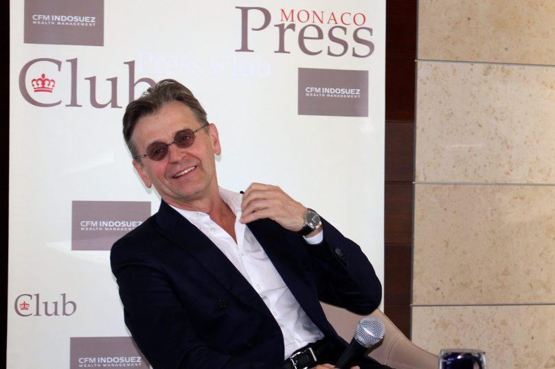A smiling Mikhail Baryshnikov @CelinaLafuenteDeLavotha