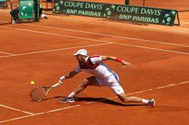 Benjamin Balleret during Davis Cup 2016 @Federation Monegasque de Tennis:Erika Tanaka