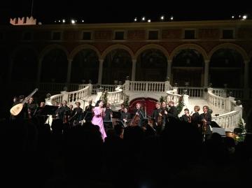 Cecilia Bartoli and the Prince's Musicians of Monaco @CelinaLafuenteDeLavotha
