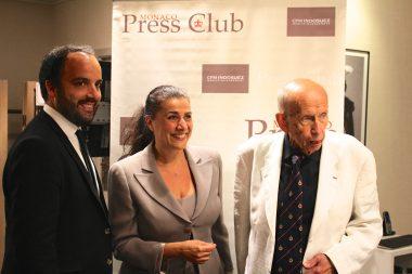 Cedric Verany , Cecilia Bartoli and Bernard Spindler @CelinaLafuenteDeLavotha 2016