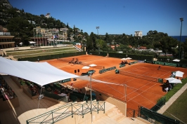 Davis Cup matches on Court B of MCCC @Federation Monegasque de Tennis:ERika