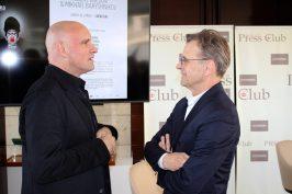 Jean-Christophe Maillot and Mikahil Baryshnikov at YCM June 28,2016