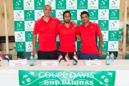Mohamed M. Maamoun, Sherif Sabry and Karim M. Maamoun @Federation Monegasque de Tennis:Erika