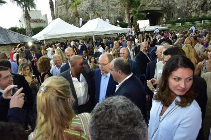 Prince Albert and the generous guests at Stelios Philanthropic Foundation charity event 2016 @SPF