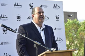 Sir Stelios at his charity auction benefiting the Pelagos Sanctuary (2016) @SPF