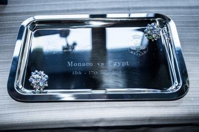 The 2016 Davis Cup trophy Monaco vs Egypt @Federation Monegasque de Tennis : Erika Tanaka
