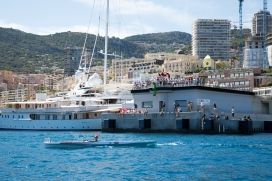 The public watching the Monaco Solar Boat Challenge 2016@Cecilia Conterno-0884