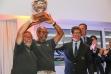 Franco Manzoli and Leonardo Servi (Scricca) awarded by Agostino Randazzo, President Circolo della Vela Sicilia @Cecilia Conterno-2941