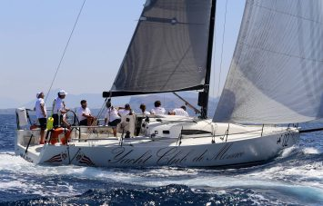 J111 Yacht Club de Monaco skippered by Jacopo Carrain from YCM with 3 young sailors@Andrea Carloni_BD