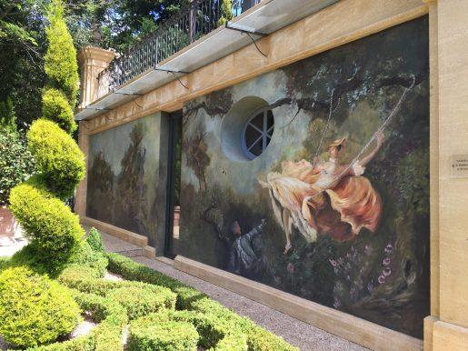 Magnificent frescos at Villa Gallici@CelinaLafuenteDeLavotha