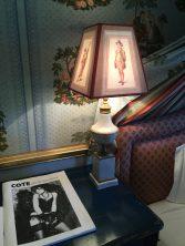 Night table in the bedroom at Villa Gallici@CelinaLafuenteDeLavotha