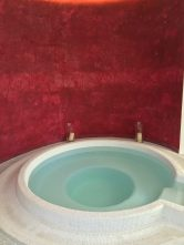 The jacuzzi in the spa area at Villa Gallici@CelinaLafuenteDeLavotha