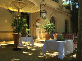 The terrace kissed by the sun at high noon at Villa Gallici@CelinaLafuenteDeLavotha