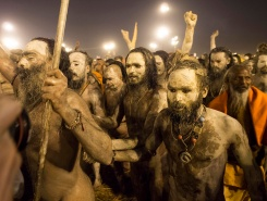 Maha Kumbh Mela, India by Nick Danziger