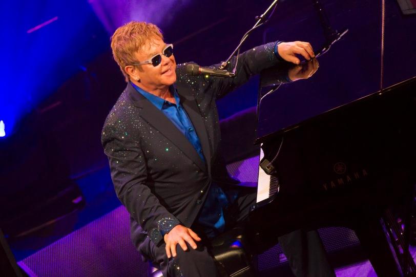Sir Elton John at the Blue Wonderful concert at the YCM @YCM press