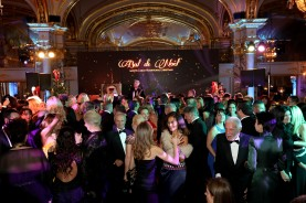 2016, Christmas Ball, Hotel de Paris, Guests on the dance floor at the Christmas Ball @Laurent Ciavaldini