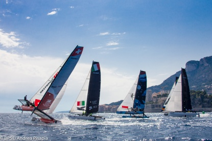 M32 Monaco Sport Boat Winter Series, December 2016 @Andrea Pisapia