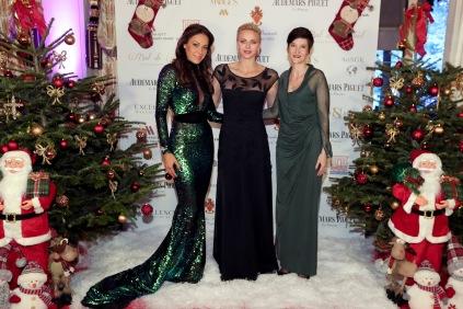 HSH Princess Charlène with Sandrine Knoell-Garbagnati and A. Falco (Princess Charlene Foundation) @Laurent Ciavaldini