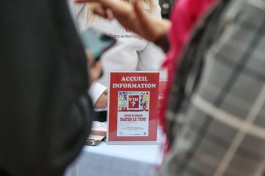 Testing campaign @Fight Aids Monaco