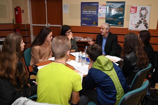 Workshop on AIDS prevention in schools in Monaco @Manu Vitali