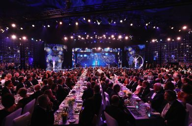MONACO - FEBRUARY 14: A general view during the 2017 Laureus World Sports Awards at the Salle des Etoiles,Sporting Monte Carlo on February 14, 2017 in Monaco, Monaco. (Photo by Matthew Lewis/Getty Images for Laureus)