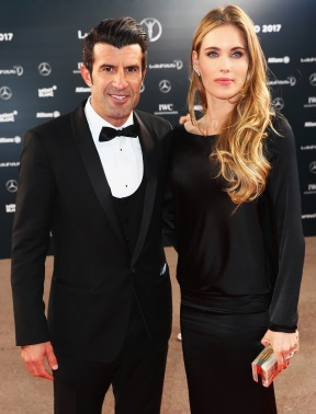 MONACO - FEBRUARY 14: Laureus Academy Member Luis Figo attends the 2017 Laureus World Sports Awards at the Salle des Etoiles,Sporting Monte Carlo on February 14, 2017 in Monaco, Monaco. (Photo by Matthew Lewis/Getty Images for Laureus) *** Local Caption *** Luis Figo
