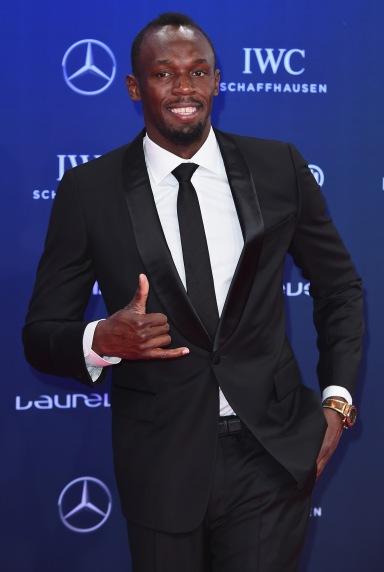 MONACO - FEBRUARY 14: Laureus World Sportsman of the Year Award nominee Athlete Usain Bolt of Jamaica attends the 2017 Laureus World Sports Awards at the Salle des Etoiles,Sporting Monte Carlo on February 14, 2017 in Monaco, Monaco. (Photo by Eamonn M. McCormack/Getty Images for Laureus) *** Local Caption *** Usain Bolt