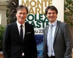 Zeljko Franulovic, Tournament Director, and Arnaud Boetsch, French TV commentator @MCRM17