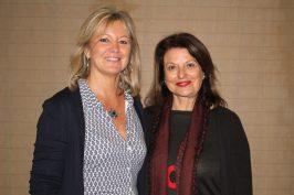 Hilde Heye and Isabelle Bonnal @CelinaLafuentedeLavotha