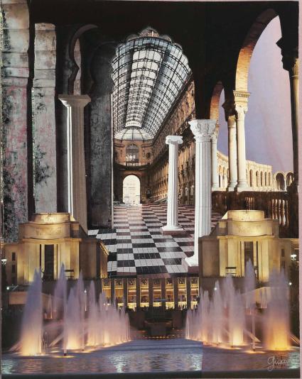 La Galerie des Mirages 1982 by Colline