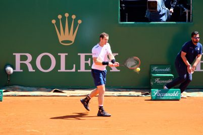 Andy Murray beat Gilles Muller avancing to third round MCRM17 @CelinaLafuentedeLavotha