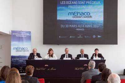 Launching of the Monaco Ocean Week at the Yacht Club of Monaco @M. Dagnino MOM