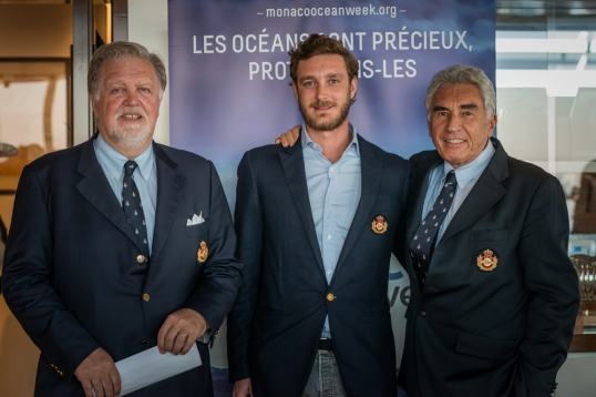 Marco Casiraghi, Pierre Casiraghi and Bernard d'Alessandri @Mesi_BD