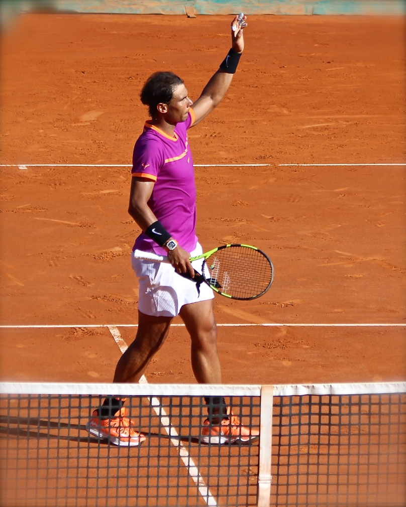 Nadal played a great match advancing to quarterfinals at MCRM 2017 @CelinaLafuentedeLavotha
