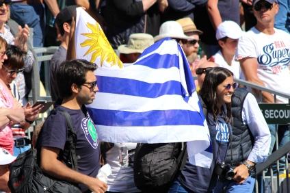 Pablo Cuevas fans from Uruguay MCRM 2017 @CelinaLafuentedeLavotha