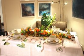 The Easter table proposed by Caterina Reviglio Sonnino at CREM @CelinaLafuentedeLavotha