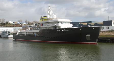 Yersin Exploration vessel