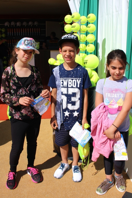 Young Tennis fans at Children's Day at the MCRM 2017 @CelinaLafuentedeLavotha