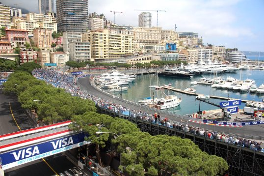 A view of the Monaco circuit during the E-Race, Saturday, May 13, 2017 @CelinaLafuentedeLavotha