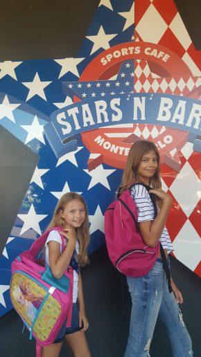 2016 School bags donation operation @Stars N'Bars