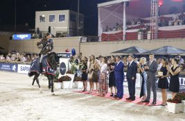 Alberto Zorzi on Cornetto K wins the Grand Prix presented by SAPINDA @Stefano Grasso/LGCT