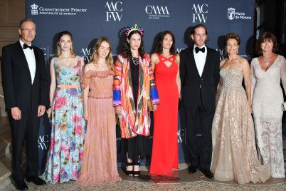 Robert Calcagno, Beatrice Borromeo Casiraghi, HRH Princess Alexandra of Hannover, Tatiana Casiraghi, Federica Nardoni Spinetta, Andrea Casiraghi, Celina Lafuente de Lavotha, MIreille Pietri@Michel Alessi