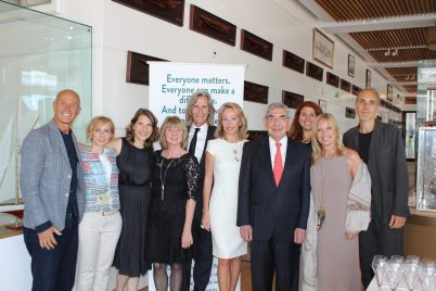 Dawn Engle, Ivan Suvanjieff, Oscar Arias, Princess Camilla of Bourbon, Jury members and award winners @Christine Wu