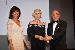 Agence Monaco Monte Carlo Fashion Week au Musée Océanographique Chiara Boni qui porte le prix