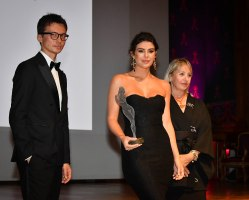 Agence Monaco Monte Carlo Fashion Week au Musée Océanographique nima benati au centre