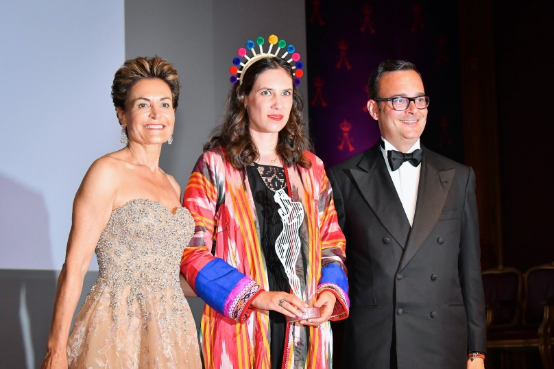 Agence Monaco Monte Carlo Fashion Week au Musée Océanographique Tatiana Santo Domingo au centre